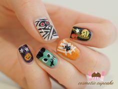 Cosmetic Cupcake: Halloween manicure 2011