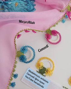 .... Bir önceki paylaşımın fotoğrafı da yeniden sizlerle.... . . . . . . @igne_oyasi_cemzeli . . 🌻🕸️🌻🕸️🌻🕸️🌻🕸️🌻🕸️🌻🕸️🌻🕸️🌻🕸️🌻🕸️ #çeyiz #bohça… Baby Knitting Patterns, Crochet Flower Patterns, Crochet Flowers, Embroidery Stitches, Hand Embroidery, Needle Lace, Handicraft, Needlepoint, Lace Trim
