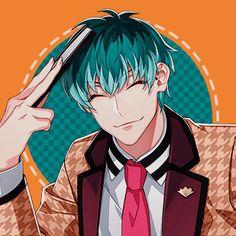 Anime Green Hair, Tragic Comedy, Rap Battle, Hot Anime Guys, Division, All Star, My Friend, Icons, Cartoon