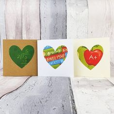 Pack of Teacher cards Handmade Thank you Teacher cards   Etsy Teacher Thank You Cards, Handmade Thank You Cards, Greeting Cards Handmade, Baby Girl Cards, New Baby Cards, Greeting Card Storage, Vintage Flower Prints, Thanks Card, Birthday Cards For Her