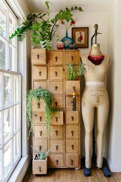 Mini Cubby Cabinet Garden DIY