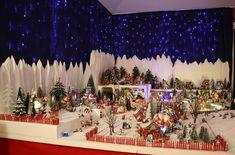 North Pole Village Display