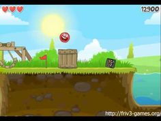 Friv3-games.org 🌞 Play Red Ball 4  - Fun Physics Puzzle Game!