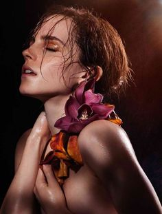 Emma Watson for 'Natural Beauty'  Photographed by James Houston