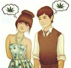 c26620ac We think alike Babe, Marijuana Plants, Cannabis, 500 Days Of Summer, Summer