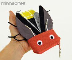 Firefly iPhone Case by MinneBites / Cute iPod Case - Handmade Lightening Bug Bag - Animal Bag for Kids - Geeky Gadget Case