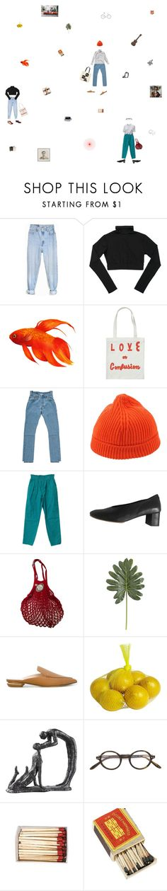 """""""who is my creator?"""" by monastic ❤ liked on Polyvore featuring Levi's, Vetements, Andy Warhol, Neera, COS, Pier 1 Imports, Nicholas Kirkwood, Uttermost and Paul & Joe"""
