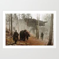 Art Prints by Jakub Rozalski | Society6