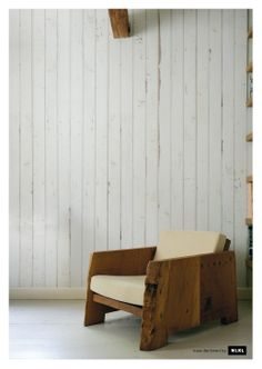 holy cow. this is wallpaper.    scrapwood wallpaper by piet hein eek. 8 different styles. no pattern, no repeat. all supremely kickass.