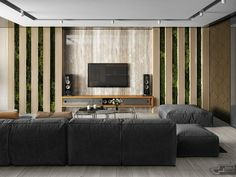 Here you may find out Amazing Home design for your Home. Visit Luxury Home Design Ideas Includes With Modern and Contemporary Decor Which Looks So Attractive to learn more. Wood Slat Wall, House Design, Room, Home, Apartment Interior, Apartment Interior Design, Lounge Interiors, Luxury House Designs, Living Room Tv