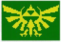 Zelda - Hyrule Triforce symbol