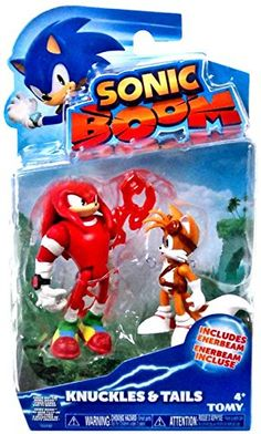 Sonic Boom Small Figure 2 Pack - Knuckles and Tails Sonic Figures, Action Figures, Sonic Boom Knuckles, Yoshi Amiibo, Sonic Costume, Teen Titans Go Robin, Sonic The Movie, Sonic Birthday, Shopping