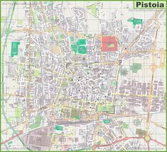 Province of Pistoia tourist map Maps Pinterest Tourist map