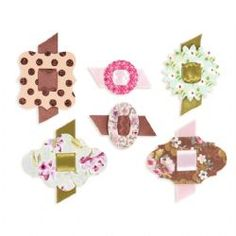 658333 Sizzix Sizzlits Die - Buckles by Brenda Walton - Country View Crafts