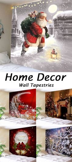 50 more Christmas decor ideas to inspire you.shop for the latest Wall Tapestries at great price,Free shipping worldwide