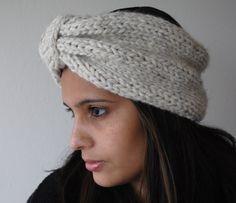Urban Turban Head Warmer by KYSAA on Etsy, $20.00