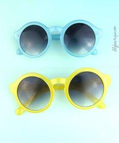 b3e730f50ce Fairly Frosty coloured sunglasses (yellow   blue) More Photos