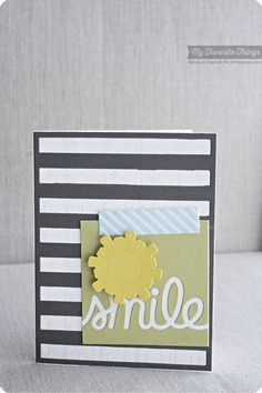 Every Day Is a Picnic, Washi Patterns, Wood Plank Background, Every Day Is a Picnic Die-namics, Smile Die-namics, Stripes Cover-Up Die-namics - Keisha Campbell #mftstamps