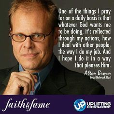 Alton Brown. Click for full interview.