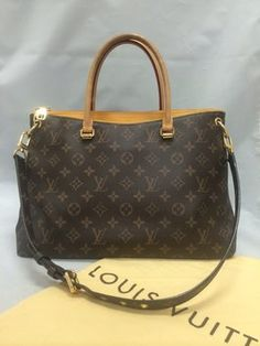 Louis Vuitton Pallas Safran Monogram Shoulder Bag. Get one of the hottest styles of the season! The Louis Vuitton Pallas Safran Monogram Shoulder Bag is a top 10 member favorite on Tradesy. Save on yours before they're sold out!
