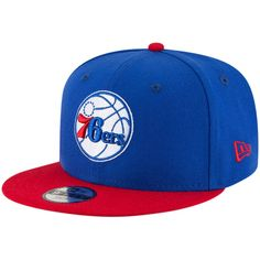 97586a6f Youth Philadelphia 76ers New Era Royal/Red Two-Tone 9FIFTY Snapback  Adjustable Hat