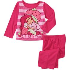 Black Friday Only! Baby Girls' Traditional Character 2-Piece Pajama Set: Baby Clothing : Walmart.com