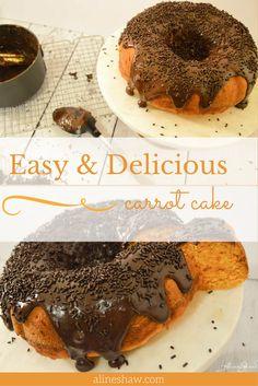 No bake chocolate pie receta blender carrot cake with brazilian chocolate ganache forumfinder Images