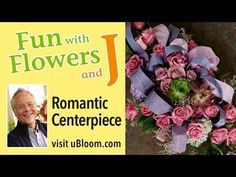 J is pleased to introduce the NEW underwriter of the Flower Stand on Fun with Flowers and J- Golden Flowers… and this week… J creates a Romantic Rose Centerp. Romantic Centerpieces, Rose Centerpieces, Easter Flower Arrangements, Easter Flowers, Flower Stands, Romantic Roses, Flower Designs, Fun, Videos