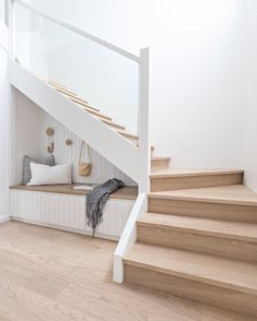 55 Genius Under Stairs Storage Ideas For Minimalist Home. Many of us live in houses that have an open area underneath the stairs. Decor, Home, Minimalist Home, House Design, Staircase Design, Interior, Minimalist Home Furniture, House Interior, Under Stairs Nook