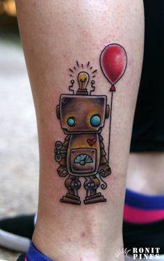 robot tattoos | Tumblr