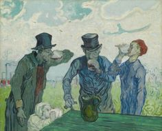 Vincent Van Gogh - The Drinkers, 1890