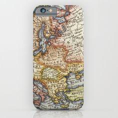 Vintage+Maps+iPhone+&+iPod+Case+by+Wisteria+Design+Studio+-+$35.00