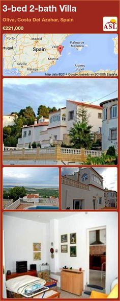 3-bed 2-bath Villa in Oliva, Costa Del Azahar, Spain ►€221,000 #PropertyForSaleInSpain
