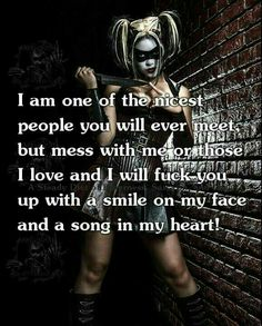 harley quinn and joker love quotes Bitch Quotes, Joker Quotes, Badass Quotes, True Quotes, Great Quotes, Funny Quotes, Inspirational Quotes, Motivational, Devil Quotes