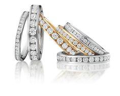 Beautiful Eternity RingsBy Loyes Diamonds. . . #eternity #Diamond  #jewelry Eternity Ring Diamond, Diamond Rings, Eternity Rings, Diamond Jewelry, White Gold, Wedding Rings, Rose Gold, Engagement Rings, Jewels