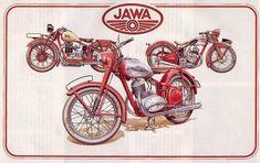 Jawa 350, Bike Design, Motocross, Diy And Crafts, Engineering, Vehicles, Artist, Vintage, Old Bikes