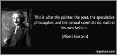 Art according to  Einstein