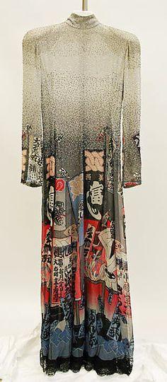 Ukiyoe  Hanae Mori, 1983  The Metropolitan Museum of Art