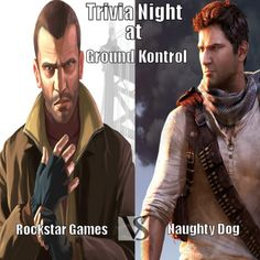 If you live in Portland, come out out for Trivia Night on 5/20 at Ground Kontrol for Rockstar Games v. Naughty Dog