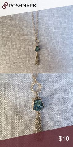 Long Tassel Necklace Brand New! Never worn Charming Charlie Jewelry