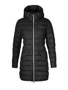Dámska bunda na zimu Pisces Long Jakcet v čiernej farbe. Nájdete ju tu: http://bit.ly/1LfrAgR.