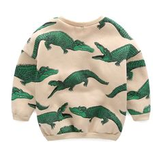 Crocodile sweat shirt $22.00 2015 Winter, Sweat Shirt, Winter Collection, Crocodile, Boys, Sweaters, Shirts, Fashion, Crocodiles