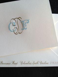 28 best love paper images on pinterest cards monogram stationary