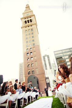 Wedding Denver Clock Tower