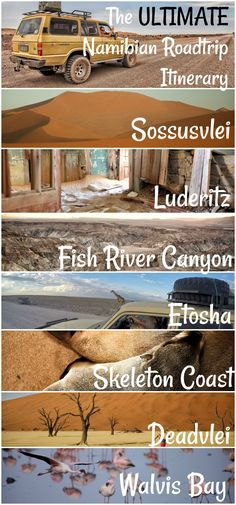 Visit the desert country of Namibia. These are some of the best places to visit in Africa!