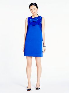 an effortlessly elegant elegant shift dress is the kind of piece you reach for in your closet over and over again. the madison ave. collection sabbina dress by kate spade new york (august 2014)