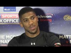 Anthony Joshua  'You can't let winning get to your head'