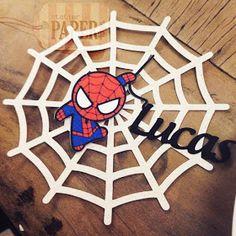 Spiderman Theme Party, Baby Spiderman, Superman Birthday Party, 5th Birthday Party Ideas, Baby Boy Birthday, Superhero Party, Birthday Party Decorations, 3rd Birthday, Ideas Para