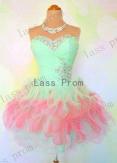 Custom Made colors short mini prom dresses, cheap short prom dresses, short formal dresses