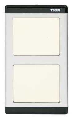 #090981 Repertorio para placas de la serie 300 y 400. Sirve para poner el repertorio con los códigos para llamar a las viviendas.